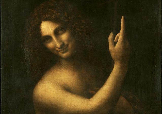 《施洗者约翰》,列奥纳多·达·芬奇