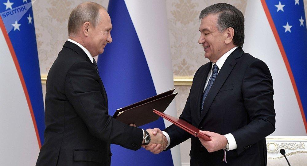 普京:俄与乌兹别克斯坦的合作计划金额仅在初期已达250亿美元
