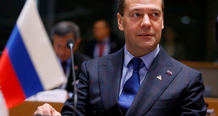 俄德总理梅德韦杰夫