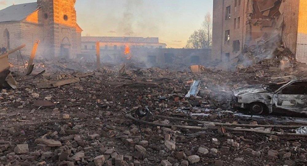 俄列宁格勒州一家烟花厂发生爆炸