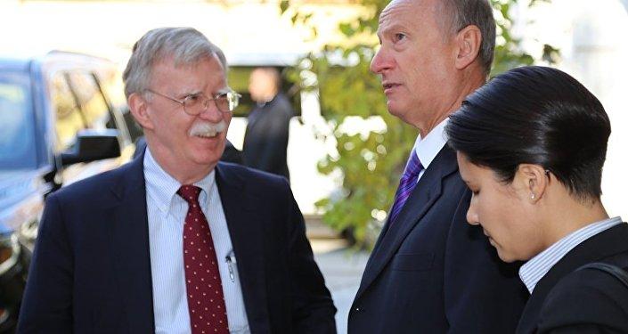 博尔顿与帕特鲁舍夫讨论叙利亚和朝鲜等问题