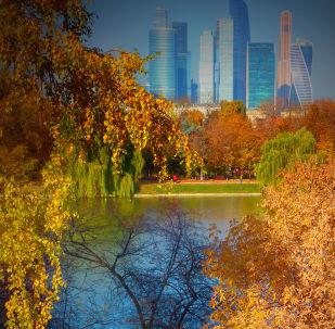 莫斯科深秋时节