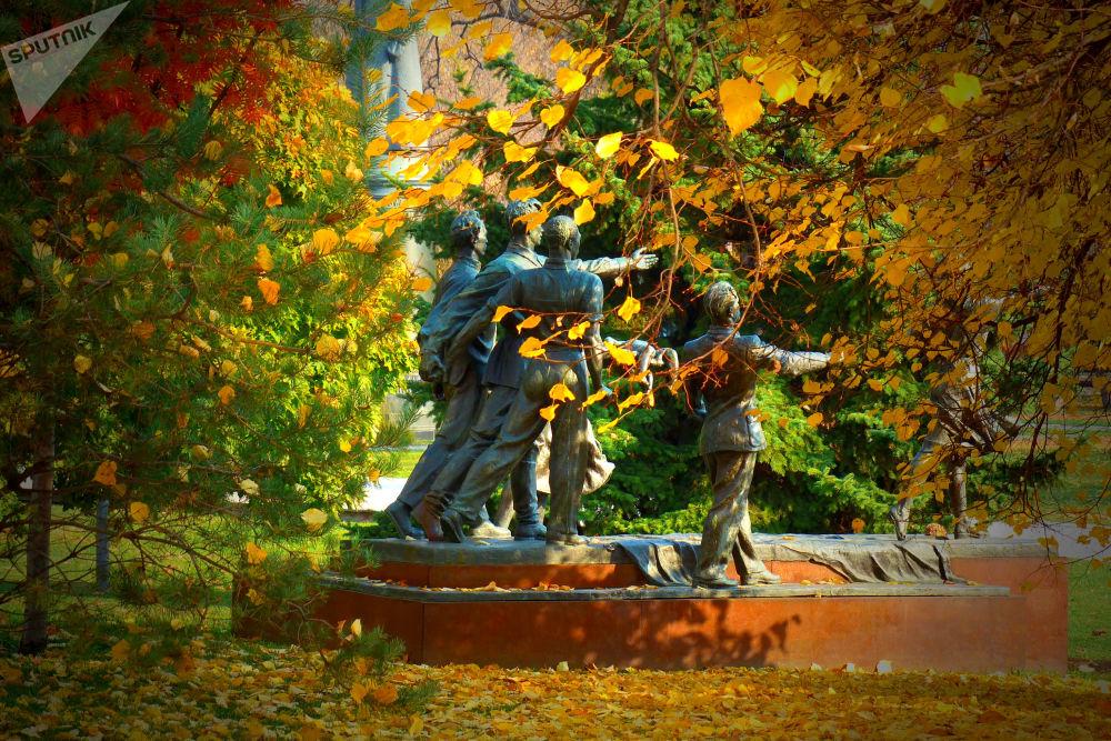 莫斯科深秋時節