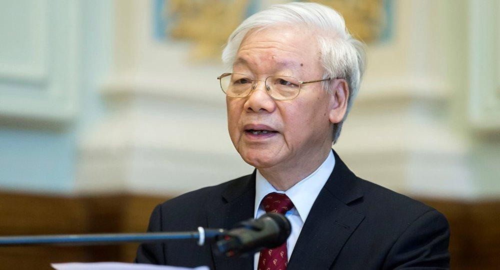 越南国会推举越共中央总书记阮富仲为新一任国家主席