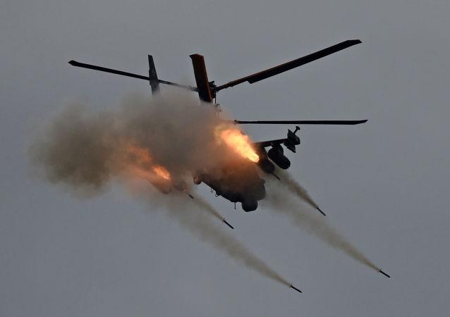 卡-52武装直升机实战射击视频发布