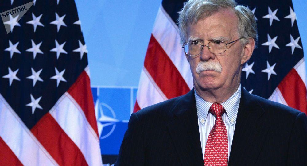 美国总统国家安全事务助理博尔顿
