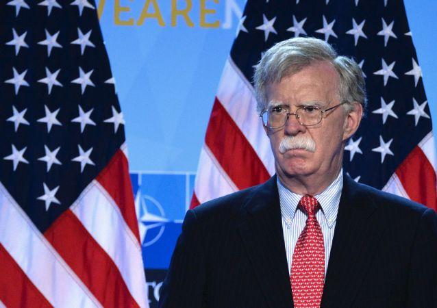美國總統國家安全事務助理博爾頓