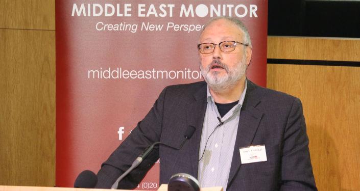 沙特國王會見遇害記者親屬