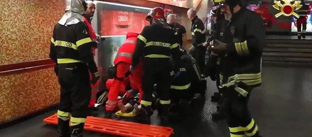 意大利民防局:罗马地铁扶梯事故致19名俄公民入院