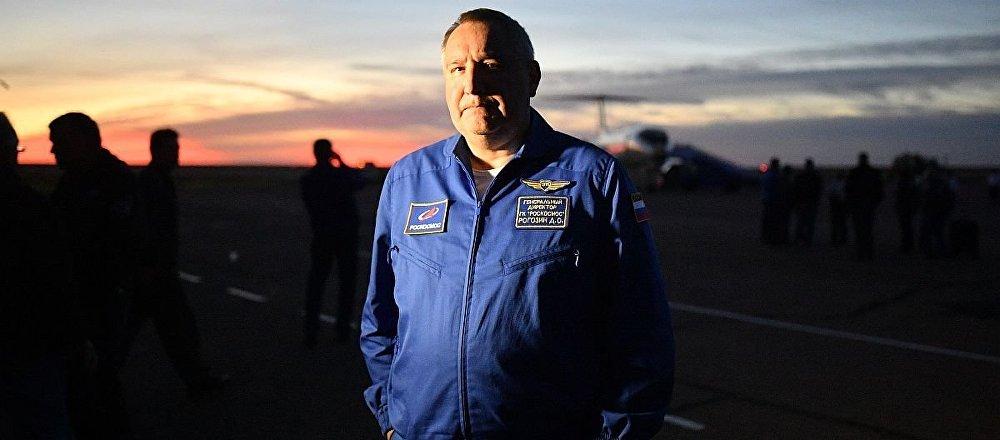 俄罗斯国家航天集团总裁德米特里?罗戈津