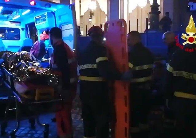 俄使館:羅馬地鐵自動扶梯失控事故造成15名俄羅斯人住院治療