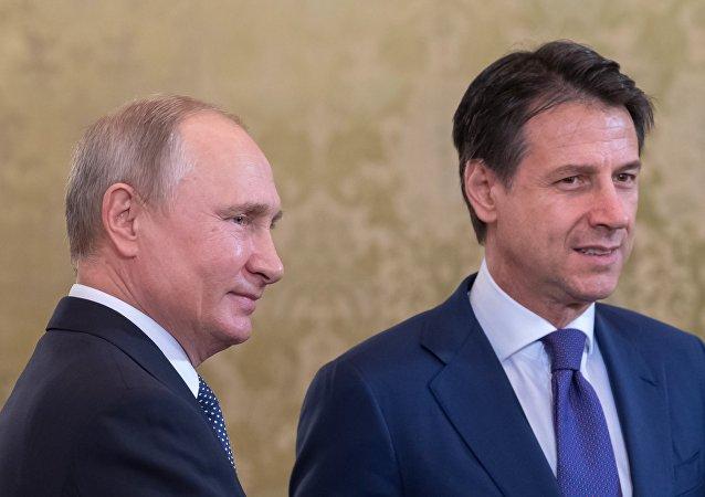 普京感谢罗马市长和医生向受伤的俄公民提供帮助
