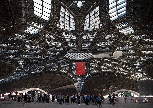 北京大興國際機場完成「第一飛」