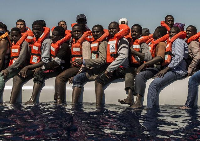 移民在地中海(资料图片)