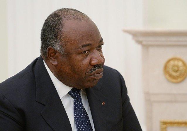 加蓬总统阿里·邦戈·翁丁巴