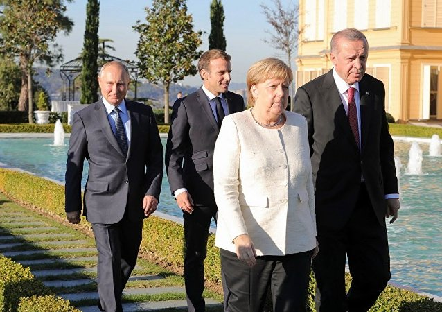 伊斯坦布爾敘問題四國元首峰會結束
