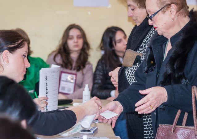 格魯吉亞反對派總統候選人不承認選舉結果