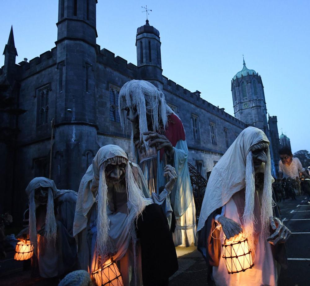 爱尔兰万圣节游行