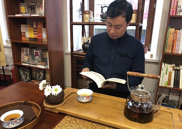 具有中國風的尚斯博庫書店