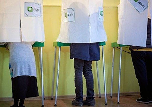 中選委:格魯吉亞總統選舉計票工作完成100%