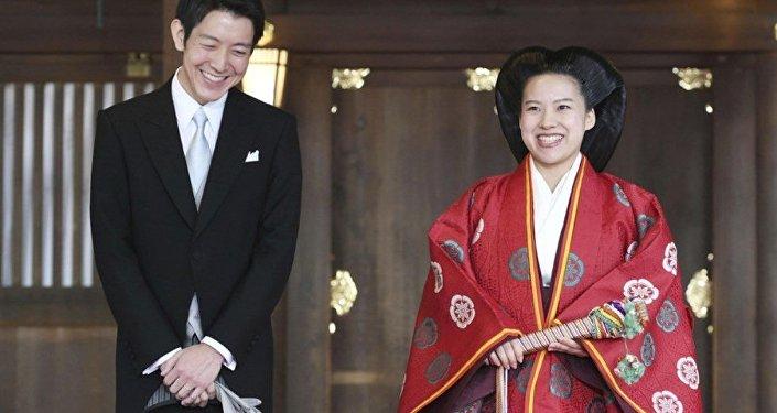 日本公主綾子下嫁平民後將失去皇族身份