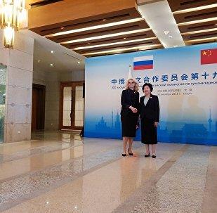 俄中人文合作委员会第19次会议