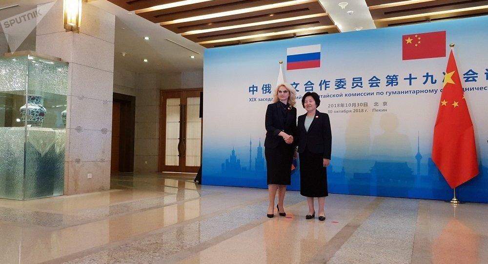 俄中人文合作委員會第19次會議