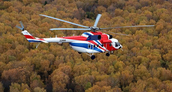 俄米-171A2和安萨特直升机抵达中国参加航展