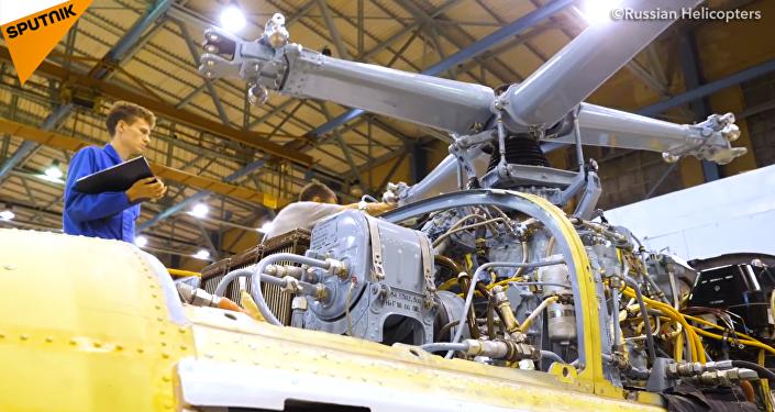 俄罗斯直升机将开启亚洲巡飞