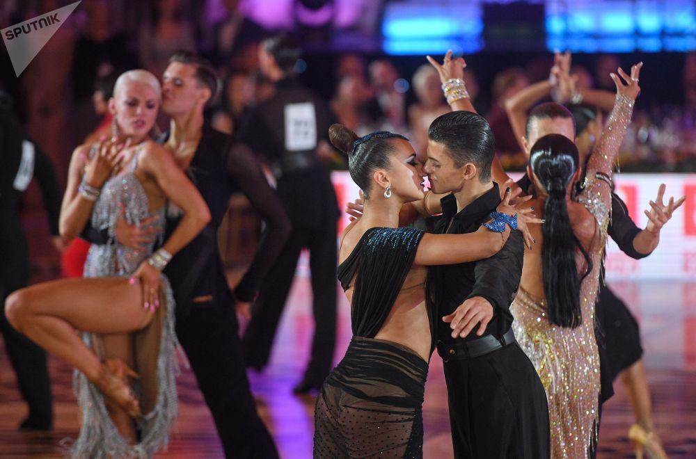「克里姆林宮杯」世界拉丁舞公開賽