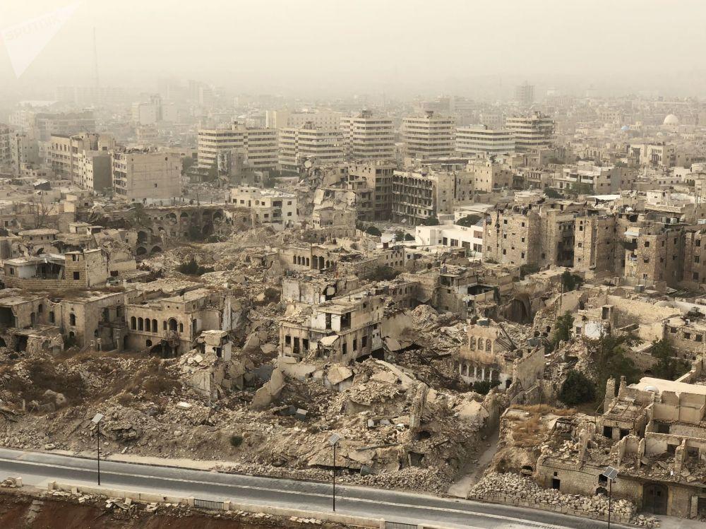 阿勒頗被毀建築