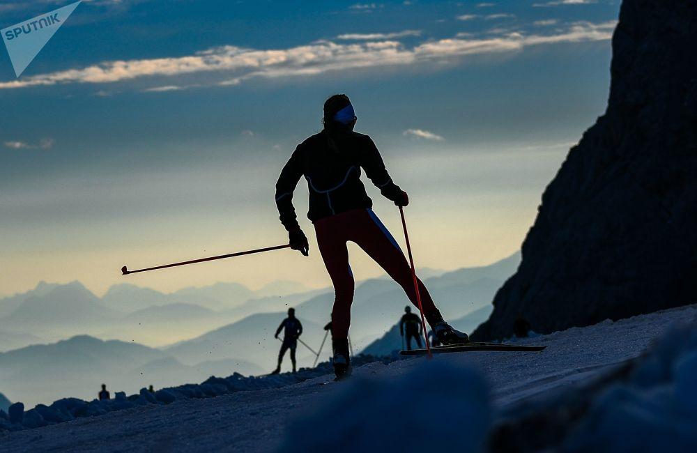 奧地利滑雪者