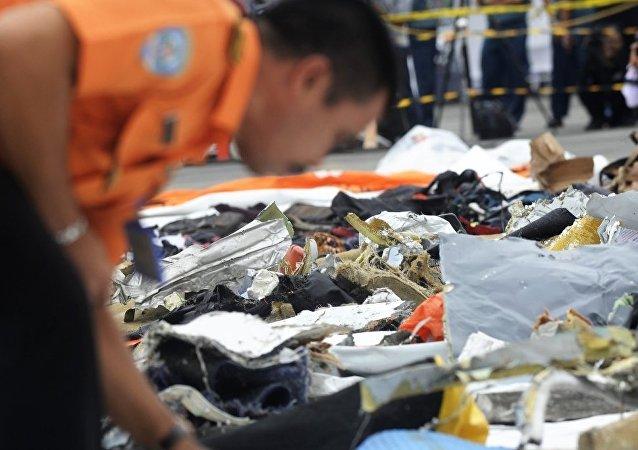 印尼狮航空难飞机黑匣子被找到