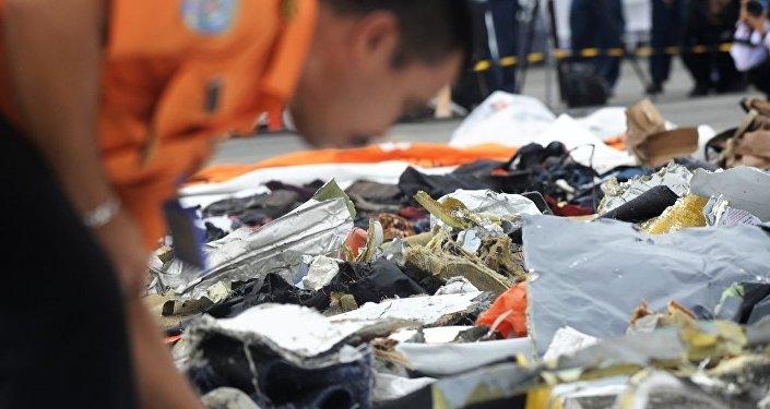 印尼獅航空難飛機黑匣子被找到