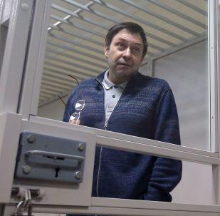 律師:「俄新社烏克蘭」網站負責人維辛斯基關押期延長至12月28日