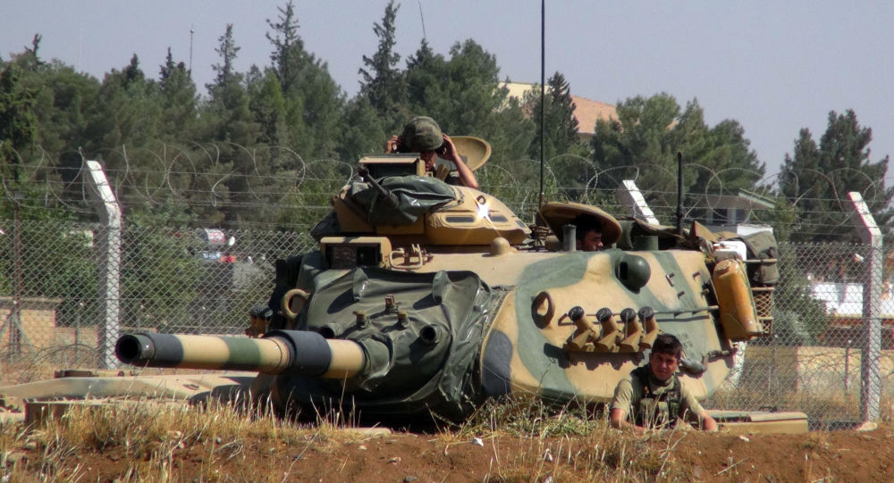 土美兩國軍人開始在敘利亞曼比季進行聯合巡邏