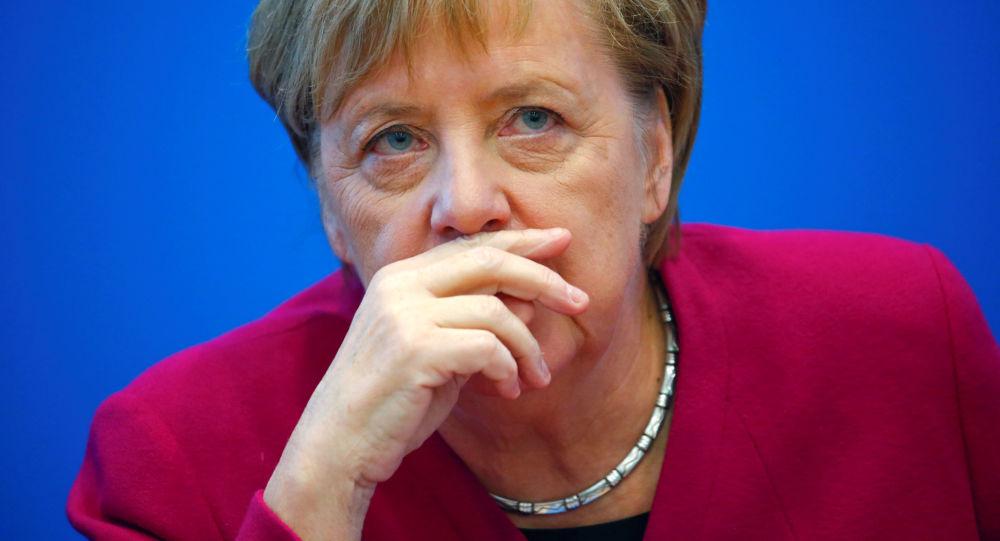 德国总理安吉拉∙默克尔