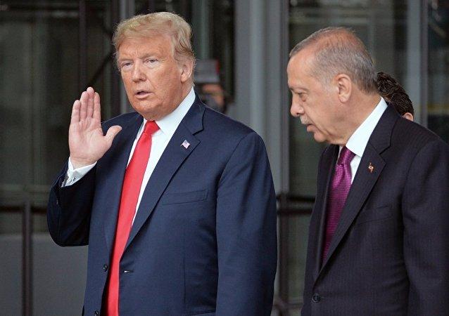 消息人士:埃尔多安和特朗普通电话讨论叙利亚局势问题