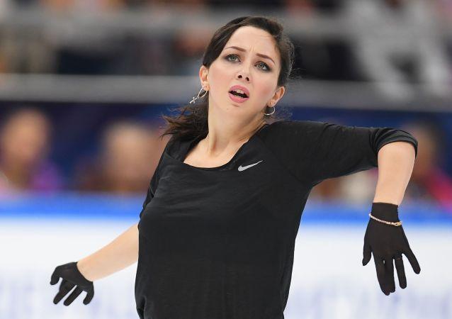 俄罗斯花样滑冰运动员伊丽莎白·图科塔梅舍娃