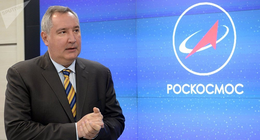 俄罗斯国家航天集团总裁德米特里•罗戈津
