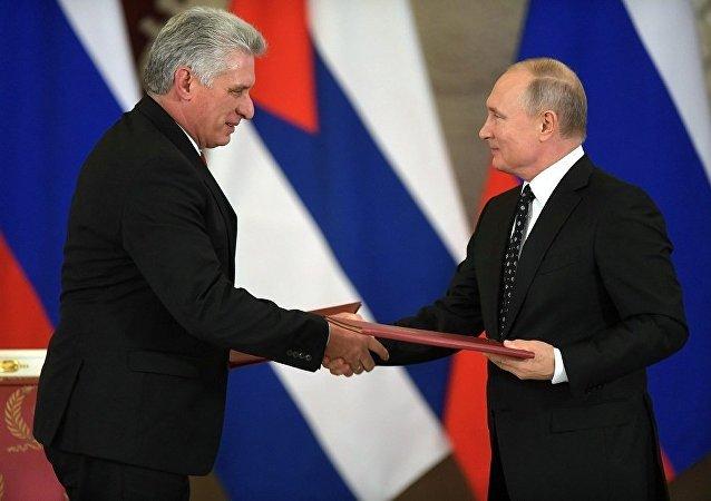 普京:俄罗斯与古巴将深化反恐合作