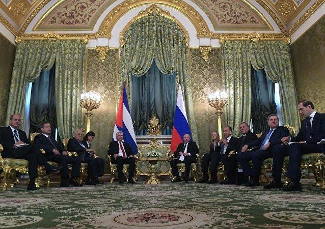 联合声明:俄罗斯主张美国解除对古巴的经济封锁