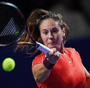 俄女子网球选手达丽娅·卡萨特金娜