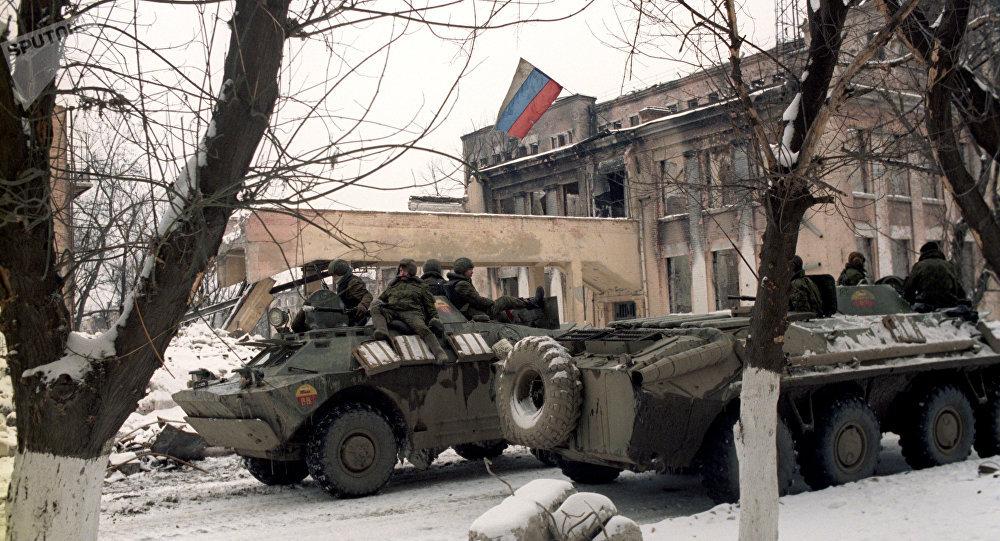 俄羅斯專家剖析第一次車臣戰爭война