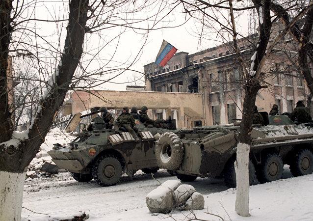 俄罗斯专家剖析第一次车臣战争война