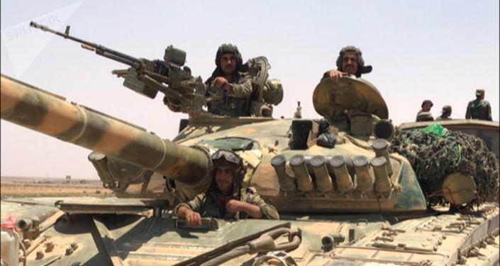 俄國防部:敘軍在敘南部進攻過程中消滅270多名伊斯蘭國武裝分子