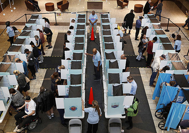 美国国会中期选举投票