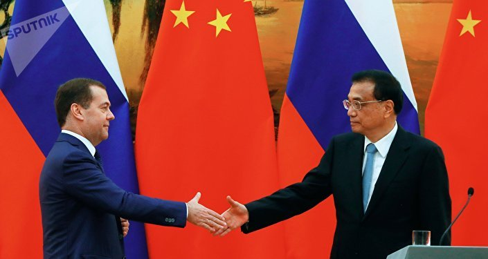 俄總理梅德韋傑夫:俄中有意加強各領域合作