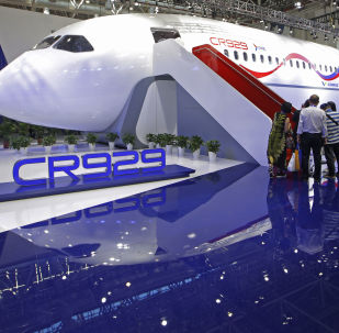 2018中國國際航空航天博覽會上的觀眾
