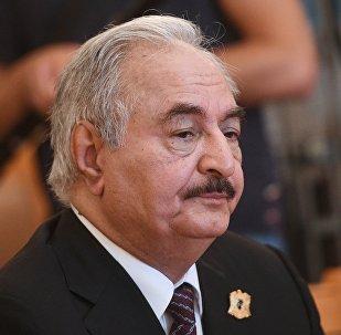 利比亚国民军总司令访俄并与俄防长讨论利比亚危机